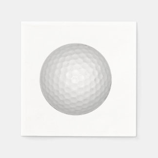Golf Ball Paper Napkin
