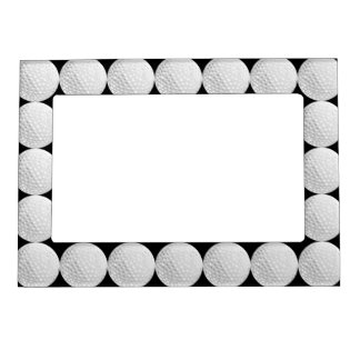Golf Ball Pattern Magnetic Picture Frame