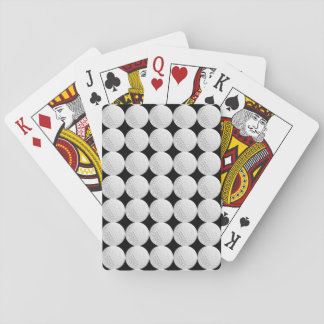 Golf Ball Pattern Playing Cards