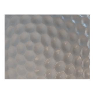 Golf Ball Pattern Texture Postcard