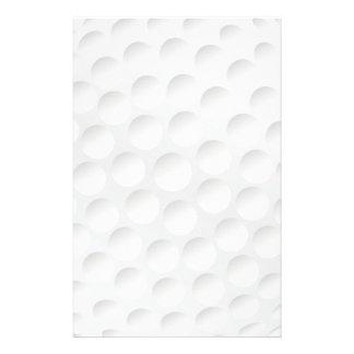 golf ball personalized stationery
