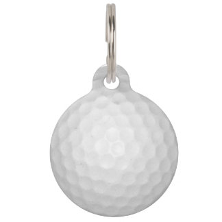 Golf Ball Pet Tags