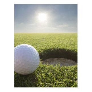 Golf Ball PGA Postcard