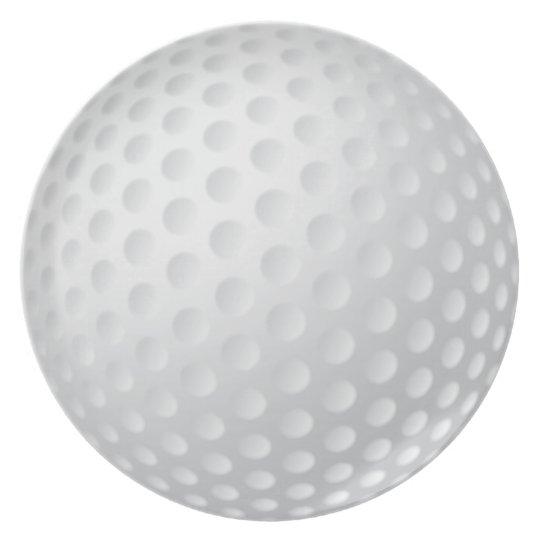 Golf Ball Plate