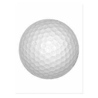 Golf Ball Post Card