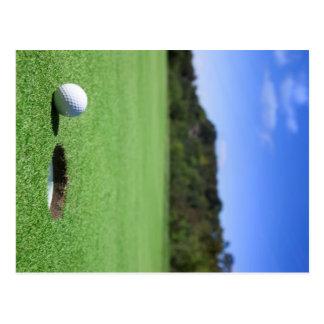 Golf Ball Post Cards