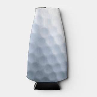 Golf Ball Print Pattern Background Bottle Cooler
