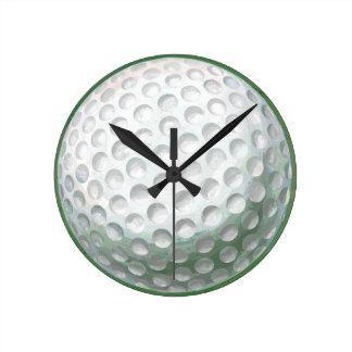 Golf Ball Round Clock