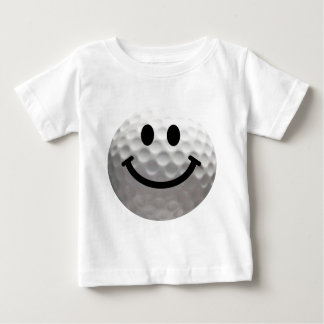 Golf ball smiley baby T-Shirt