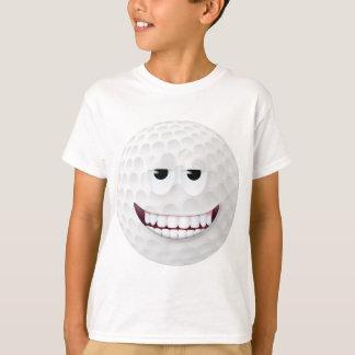 Golf Ball Smiley Face 2 T-Shirt