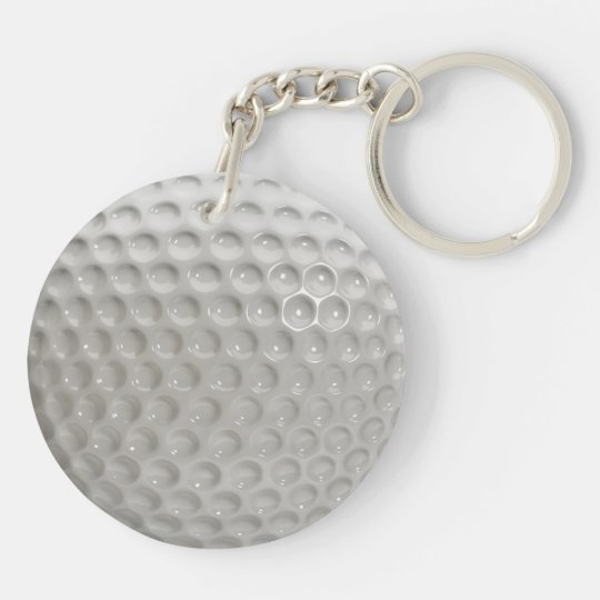 Golf Ball Sport Key Ring
