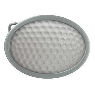 Golf Ball Sport Oval Belt Buckle