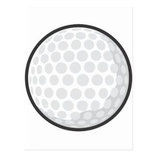 Golf Ball Sticker - Cute Golf Ball Cartoon Sticker Postcard