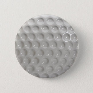 Golf Ball Surface Close Up 6 Cm Round Badge