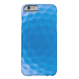 Golf Ball Texture Dimples Arctic Blue Barely There iPhone 6 Case
