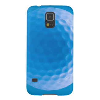 Golf Ball Texture Dimples Arctic Blue Galaxy S5 Cases