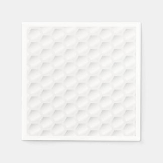 Golf ball texture paper napkin