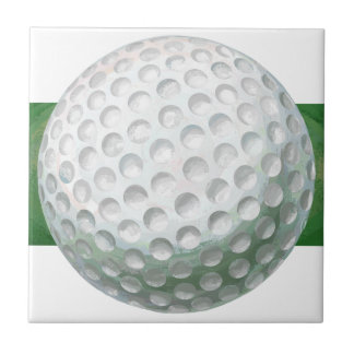 Golf Ball Small Square Tile