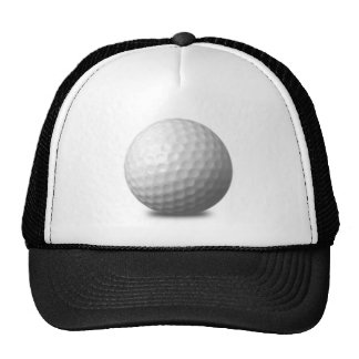 GOLF BALL VECTOR ICON GRAPHICS greens WHITE SPORTS Mesh Hats
