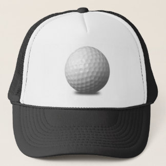 GOLF BALL VECTOR ICON GRAPHICS greens WHITE SPORTS Trucker Hat