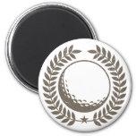 Golf Ball Vintage Design Magnets