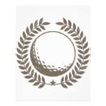 Golf Ball Vintage Design Personalized Flyer