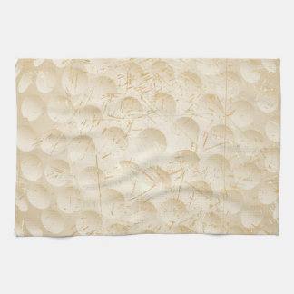 golf ball vintage kitchen towel