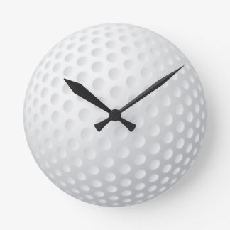Golf Ball Wallclock