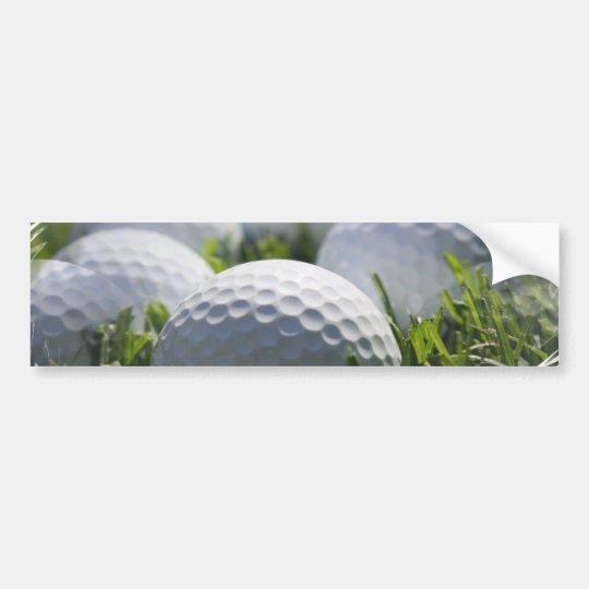 Golf Balls Bumper Sticker