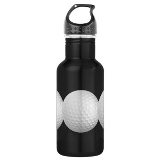Golf balls custom 532 ml water bottle