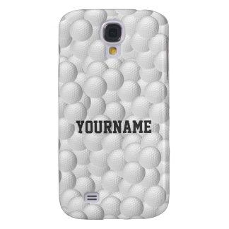 Golf Balls custom cases Galaxy S4 Case