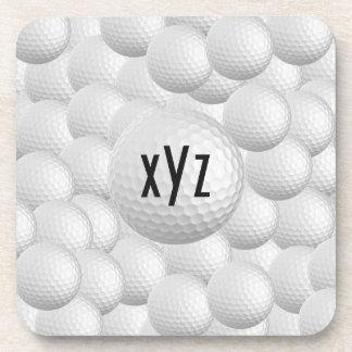 Golf Balls custom coasters