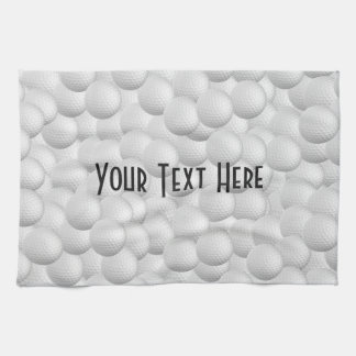 Golf Balls custom hand towel