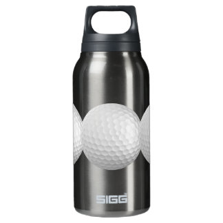 Golf balls custom insulated water bottle