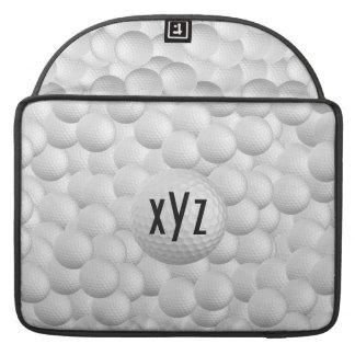 Golf Balls custom MacBook sleeves