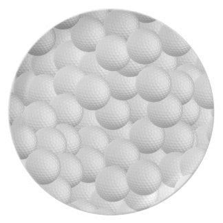 Golf Balls custom plate