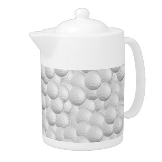 Golf Balls custom teapot