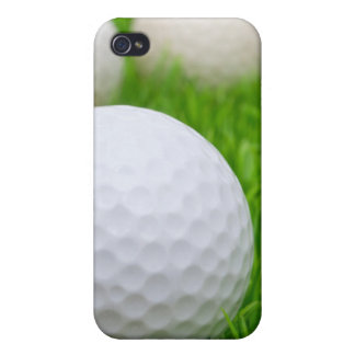 Golf Balls In Grass iPhone 4 Cases