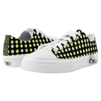 Golf_Balls_Low_Back_Printed_Zipz_Sneakers. Printed Shoes
