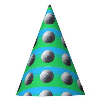 Golf Balls party hat