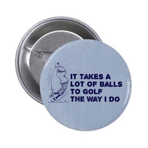 Golf Balls Pin