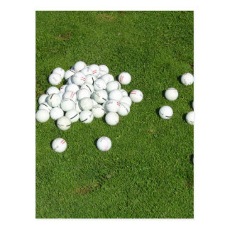Golf Balls Post Cards