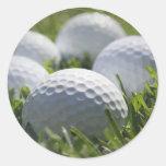 Golf Balls Sticker