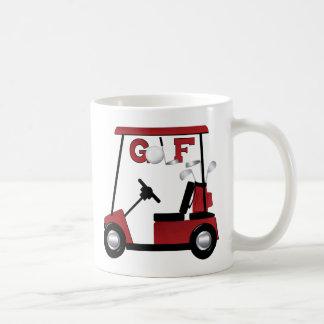 Golf Basic White Mug