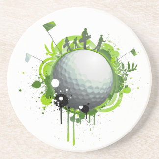 Golf Beverage Coasters