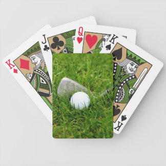 Golf Bicycle Playing Cards
