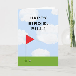 Funny Golf Birthday Cards