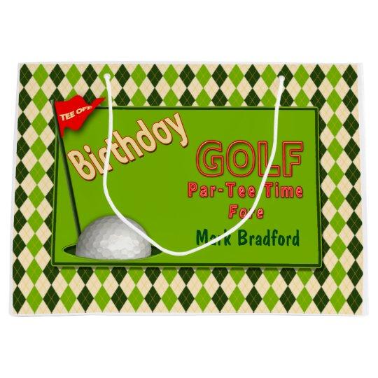sc 1 st  Zazzle UK & GOLF BIRTHDAY GIFT BAG | Zazzle.co.uk