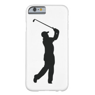 Golf Black Silhouette Shadow Barely There iPhone 6 Case