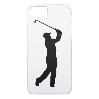 Golf Black Silhouette Shadow iPhone 8/7 Case